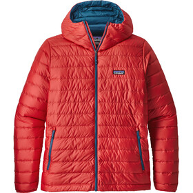 Patagonia M's Down Sweater Hoody Fire